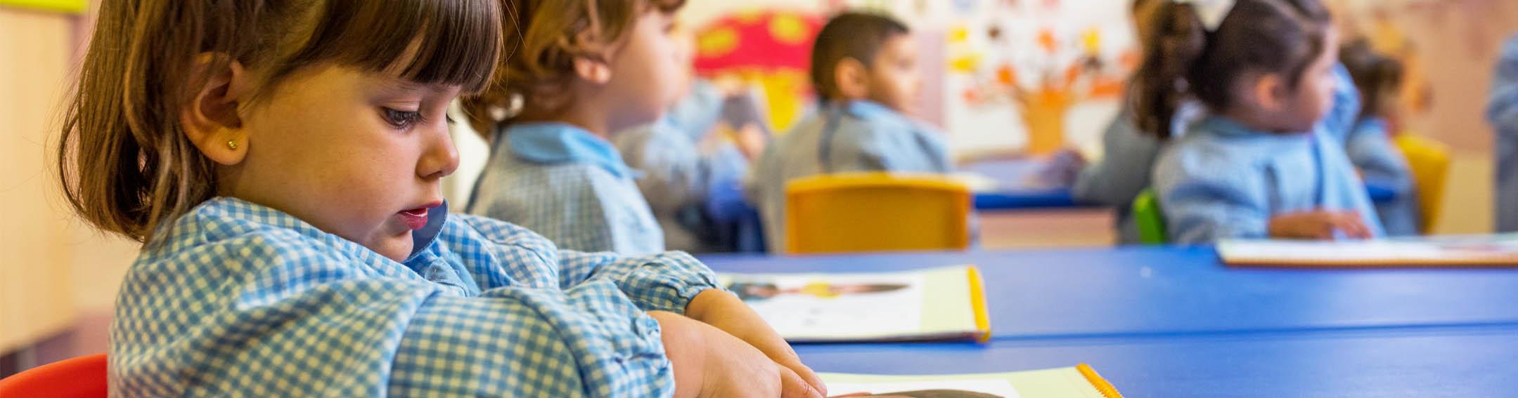 aulas escuela infantil mostoles